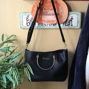 FOLEY & CORINNA▪️Black Gold Purse Satchel Bag